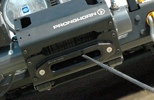 off-road aluminum bumpers, winch case, gearmount